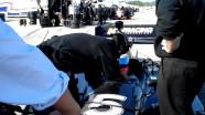 Indycar 2012 - Barrichello doing test laps