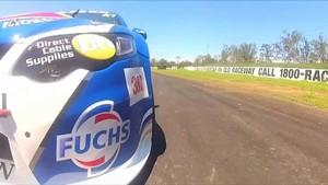 Tim Slade Gets First V8 Supercar Laps of 2012