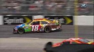 Kyle Busch Slams Into The Wall - Goody's Fast Pain Relief 500 - Martinsville - 2012