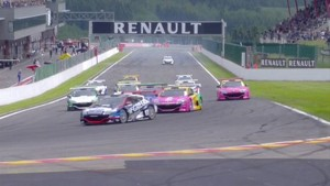 Eurocup Megane Trophy Spa News 2012 - Race 1