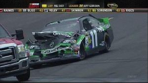 Restart Troubles - Pocono - 08/05/12