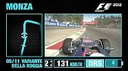 F1 2012 - Monza Hotlap Video