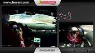 Ferrari 458 Challenge on-board camera: Gregory Teo in Singapore