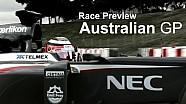 Race Preview - 2013 Australian GP - Sauber F1 Team