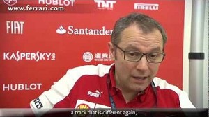 Malaysian Grand Prix - Stefano Domenicali, about race