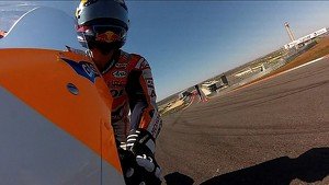 Honda MotoGP Pre-Season Testing Austin 2013: One Lap At Austin with Dani Pedrosa
