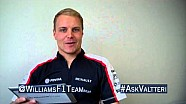 Valtteri Bottas previews the Chinese GP by answering Twitter questions @WilliamsF1Team