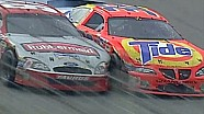 Ricky Craven and Kurt Busch finish at Darlington 2003