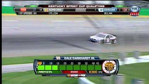 Dale Earnhardt Jr. Dominates Qualifying at Kentucky!