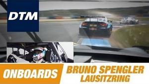Onboard Bruno Spengler BMW M3 DTM - DTM Race Lausitzring