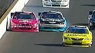 NASCAR Kasey Kahne and Trevor Bayne Battle on Restart | Indiana 250