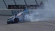 NASCAR Denny Hamlin into the wall at Pocono | 2013