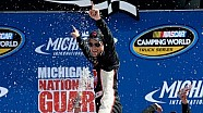 Victory Lane: James Buescher wins at Michigan