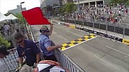 Green flag to red flag in a few seconds
