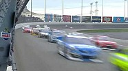 NASCAR Busch and Johnson battle under new restart rule
