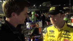 Matt Kenseth keeps the points lead | Victory Lane, Chicagoland (2013)