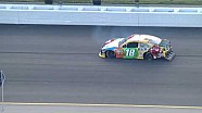 NASCAR Kyle Busch Crash During Practice | Kansas Speedway