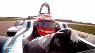 Jarno Trulli - Formula E test drive