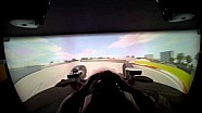 Pagenaud on Honda's Simulator through the Streets of St. Petersburg