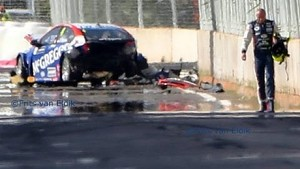Huge crash Coronel in Marrakech RAW edit, FIA WTCC 2014