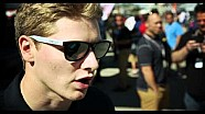 Josef Newgarden recaps day one at Barber Motorsports Park