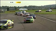 Simon Belcher Flips - Goes Into Woods During BTCC race