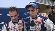 Interview with winners Nicolas Lapierre and Sébastien Buemi