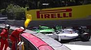 Ericsson & Massa collide during qualifying - Monaco GP