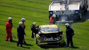 Multi-car wreck collects Conley