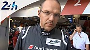 Le Mans 2014: Interview with Chris REINKE (Audi)