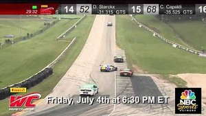 PWC 2014 at Road America on NBC Sports Network Friday, July 4th at 6:30 PM ET