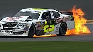 Rain shower causes pileup in NASCAR Nationwide qualifying - Daytona 2014
