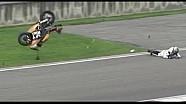 Yamaha R6 Crash Onboard