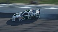 Duno wrecks in first Nationwide race