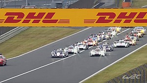 FIAWEC - The start of the 6 Hours of Fuji