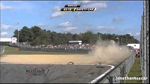 Massive crash for Vasilyev in Blancpain Sprint 2014 Zolder