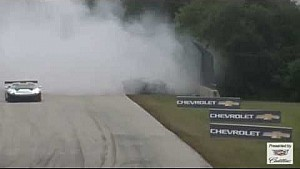 Alex Figge's massive crash, Pirelli World Challenge 2014 at Road America