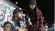 World of Outlaws STP Sprint Car Series Victory Lane from Night Two of 2014 World Finals