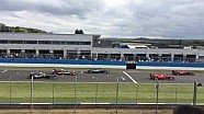 First Ever FIA Formula E Practice Start Test - Donington Park 3rd July 2014