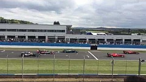 First Ever FIA Formula E Practice Start Test - Donington Park 3rd July 2014