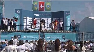Punta del Este ePrix podium ceremony