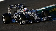 Unleash the CamoBull. The RB11 takes to the track in Jerez