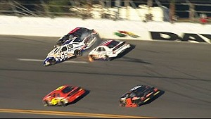 Leilani Munter Gets Loose Collecting a Few Cars - Daytona - 2015 ARCA Series