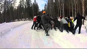 Mikkelsen spin - Rally Sweden