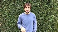 Fernando Alonso agradece el apoyo