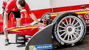 Under construction - 2015 FIA Formula E - Miami - Michelin