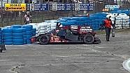 Oswaldo Negri crash at 12 Hours of Sebring 2015