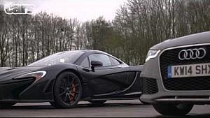 كريس هاريس مع السيارات - اختبار سيارة مكلارين بي1
