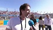 Long Beach ePrix - Entrevista a Adrien Brody en la parrilla de salida-