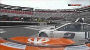 Penske teammates crash at Bristol - Keselowski & Logano